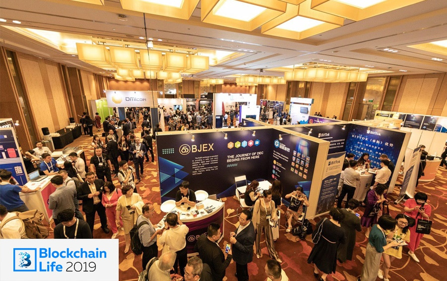 Blockchain Life 2019 Exhibition