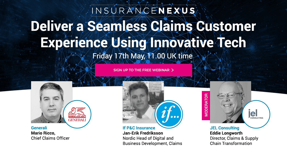 Deliver a seamless claims customer experience using innovative tech - IIB Council Endorsed Event