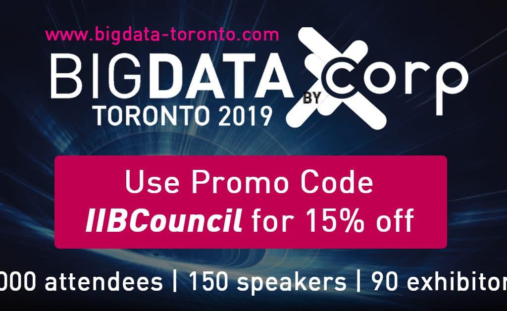 Big Data and AI Toronto - IIB Council Endorsed Event